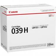Картридж Canon 039H (0288C001) (LBP351/352) Black