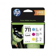 Картридж HP No.711 (P2V32A) (DesignJet 120/520) Color (C, M, Y)