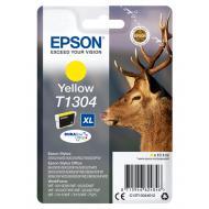 Картридж Epson XL (C13T13044012) (St SX525WD/ Office B42WD/ BX625FWD) Yellow