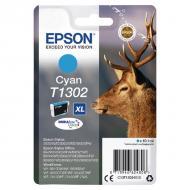 Картридж Epson XL (C13T13024012) (St SX525WD/ Office B42WD/ BX625FWD) Cyan