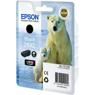 Картридж Epson 26XL (C13T26214012) (XP600/ 605/ 700) Black