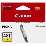 Картридж Canon CLI481Y (2100C001AA) (Pixma TS5140/6140/8140/8540) Yellow