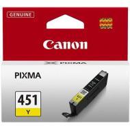 Картридж Canon CLI-451Y XL (6475B001) (Pixma MG5440/MG6340) Yellow