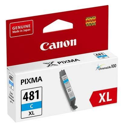 Картридж Canon CLI-481C XL (2044C001) (PIXMA TS5140, PIXMA TS8140) Cyan