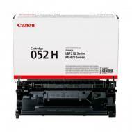 Картридж Canon 052H (2200C002) (LBP212dw/ 214dw/ 215x/ MF421dw/ 426dw/ 428x/ MF429x) Black