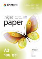 ������ ��� ������������ PrintPro A3 190g/m2 100� (PME190100A3)