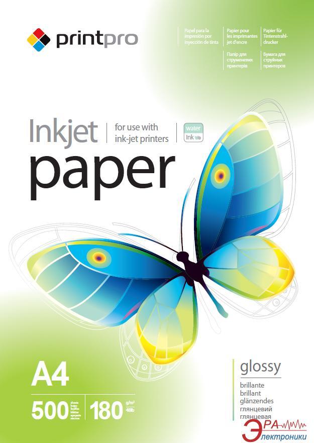 Бумага для фотопринтера PrintPro A4 150g/m2 500л (PGE180500A4)