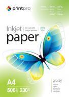 Бумага для фотопринтера PrintPro A4 230g/m2 500л (PGE230500A4)