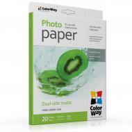 Бумага для фотопринтера ColorWay 220g/m2, LT, 20л (PMD220020LT)