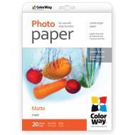 Бумага для фотопринтера ColorWay 190g/m2, LT, 20л (PM190020LT)