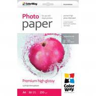 Бумага для фотопринтера ColorWay 255g/m2, LT, 50л (PSG255050LT)