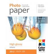 Бумага для фотопринтера ColorWay 200g/m2, LT, 20л (PG200020LT)