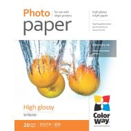 Бумага для фотопринтера ColorWay 230g/m2, LT, 20л (PG230020LT)