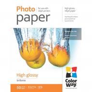 Бумага для фотопринтера ColorWay 200g/m2, LT, 50л (PG200050LT)