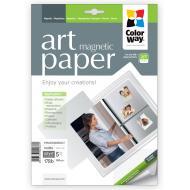 Бумага для фотопринтера ColorWay Art Магнитная 650g/m2, LT, 5л (PMA650005MLT)