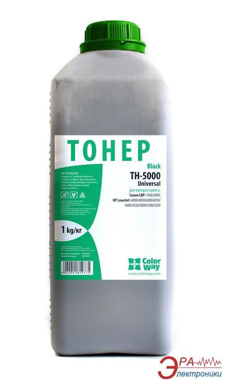 Тонер cовместимый ColorWay HP LJ 5000/5100 (TH-5000-1B) 1000 г.
