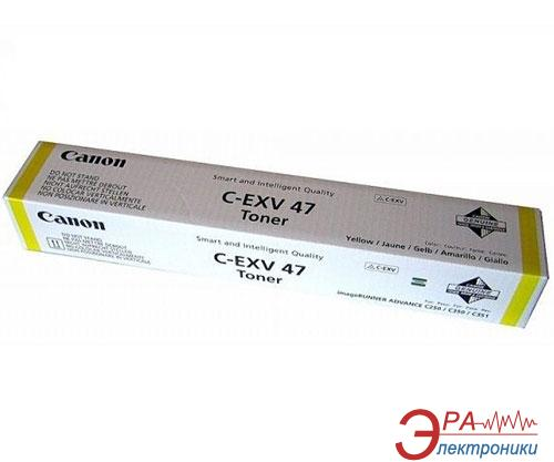 Тонер Canon C-EXV47 for iRAC2/35xi (8519B002AA) yellow