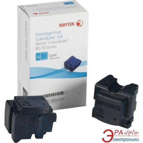Брикеты твердочернильные Xerox CQ8570 (108R00936) Cyan