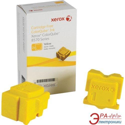 Брикеты твердочернильные Xerox CQ8570 (108R00938) Yellow