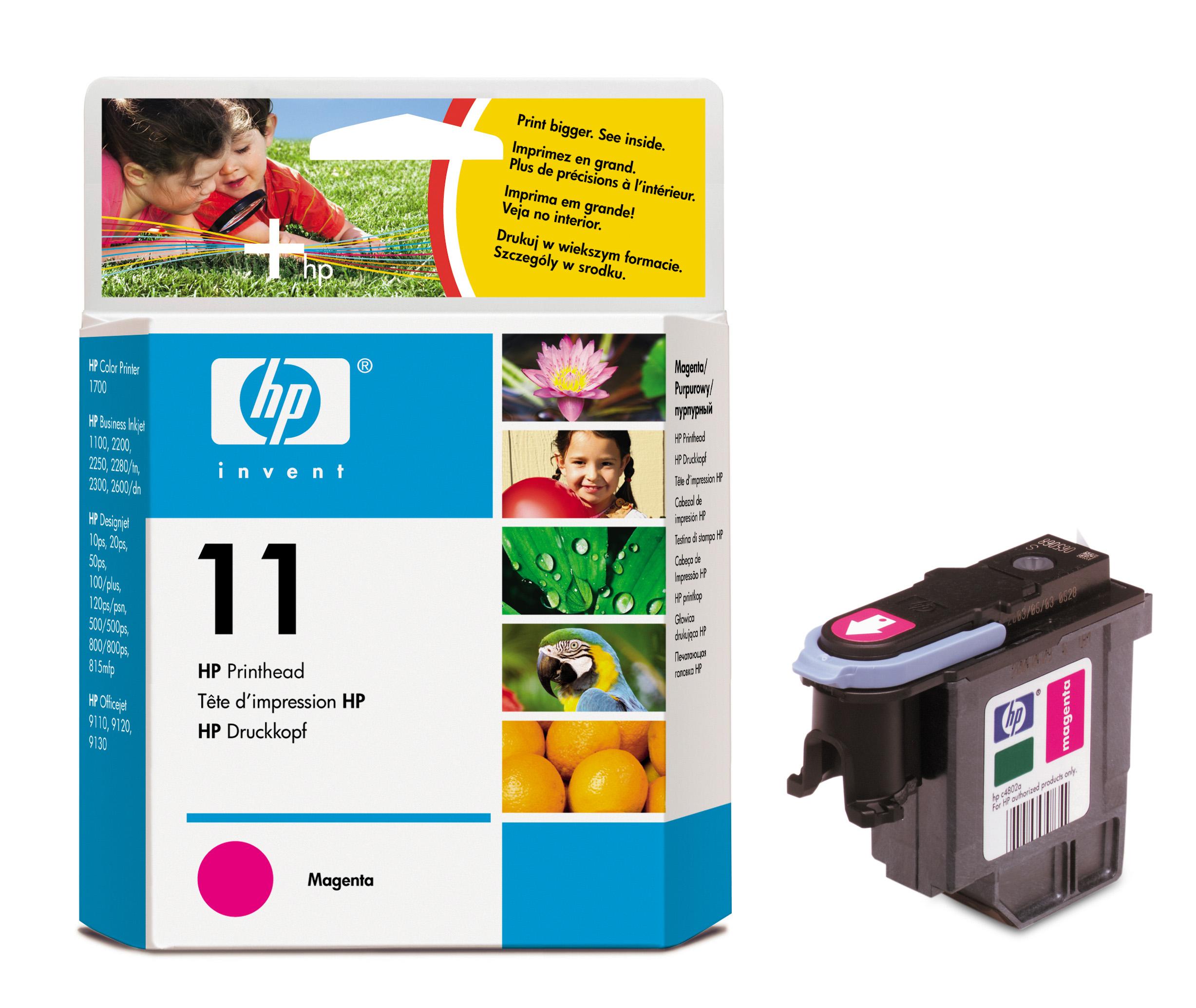 Печатающая головка HP No.11 (C4812A) magenta
