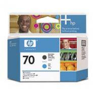 Печатающая головка HP No.70 (C9404A) matte black and cyan