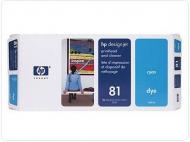 ���������� ������� HP No.81 Dye&Cleaner (C4954A) cyan
