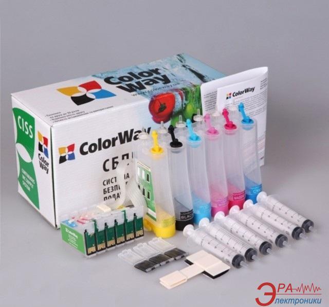 СНПЧ ColorWay (T50CC-0.0) Epson (Stylus Photo T50/T59/R270 /R290/R295/ R390/RX590/ RX610/RX615 /TX650/TX659 /RX690)
