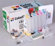 СНПЧ ColorWay T50CC-6.5K Epson (Stylus Photo:T50/T59/R270/R290/R295/R390/RX590/RX610/RX615/TX650/TX659)
