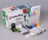 СНПЧ ColorWay (H56/57CN-0.0NC) HP (№21/22/27 /28/56 /57/129 /130/ 131/134/135)