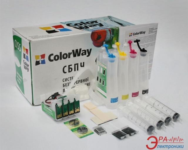 СНПЧ ColorWay (SX130CC-0.0B) Epson (Stylus S22/SX125/SX420/SX425, Stylus Office BX305, Stylus SX130/SX230/ SX235W/SX430W/SX435W/SX440W/SX4)