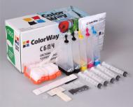 СНПЧ ColorWay IP4200CN-0.0 Canon (PIXMA: MP500/MP530/MP600/MP610/MP750/ MP760/MP780/MP800/MP810/MP830/IP3000/IP4000/IP4200/IP4300/IP450)