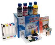 СНПЧ WWM IS.0261B (G083034) Epson (Stylus SX420W/SX425W /SX430W/SX435W/ SX440W/SX445W)