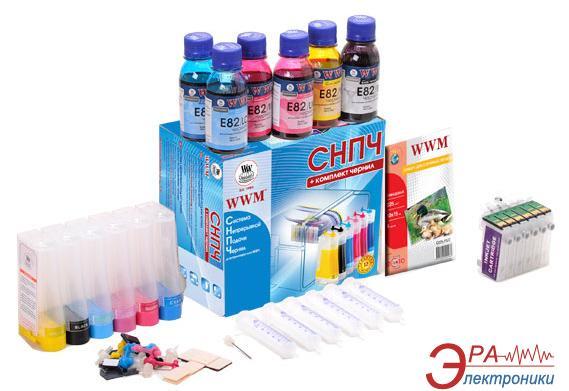 СНПЧ WWM IS.0229WBS (G081935) Epson (Stylus Photo 1400/1410/R270/ R290/R295/ R390/RX590)