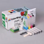 СНПЧ ColorWay (T26CC-4.1) Epson (Stylus CX4300 / TX119 / TX117 / TX109 / TX106 / C91 / T27 / T26)