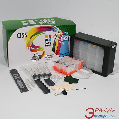 СНПЧ ColorWay №178 (H178CC-4.1P) HP (PhotoSmart 3070 / 5510 (B111b) / 5515 / 6510 / 7510 / B010 / B109 / B110 / B209 /B210 / C309 / C310)