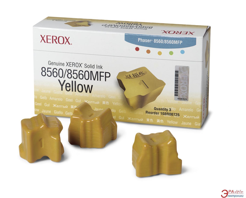 Брикеты твердочернильные Xerox PH8560 (108R00766) Yellow