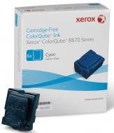 Брикеты твердочернильные Xerox CQ8870 (108R00958) Cyan