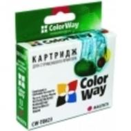 Совместимый картридж ColorWay CW-T0732 Stylus: C79 / C110 / TX200 / TX209 / TX210 / TX219 / TX400 / TX409 / TX410 / TX419 / TX550W / CX3900 Cyan