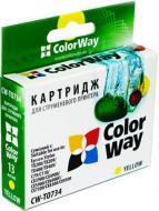 Совместимый картридж ColorWay (CW-T0734) (Stylus:C79/C110/TX200/TX209/TX210/TX219/TX400/TX409/TX410/TX419/TX550W/CX3900/CX4900/CX5900/CX6900/ Yellow