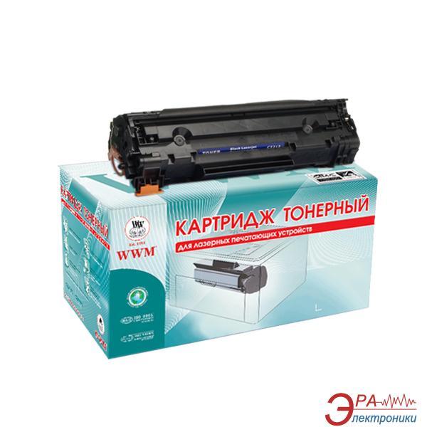 Совместимый картридж WWM LC42N (Canon i-Sensys LBP-3010 / LBP-3020, HP LaserJet P1005 / P1006) Black