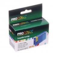 Совместимый картридж ProColor PC-C521C CANON PIXMA iP3600 / iP4600 / iP4700 / MP540 / MP550 / MP560 / MP620 / MP630 / MP640 / MP980 / MP990 Cyan