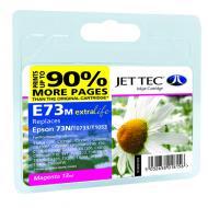 ����������� �������� JetTec E73M EPSON STYLUS C110 / C79 / C90 / C92 / CX3900 / CX3905 / CX4900 / CX4905 / CX5500 / CX5600 / CX5900 / Magenta