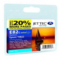 ����������� �������� JetTec E81/82C EPSON STYLUS PHOTO 1410 / R270 / R290 / R295 / R390 / RX590 / RX610 / RX615 / RX690 / T50 / T59 / TX Cyan