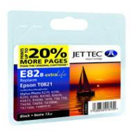 Совместимый картридж JetTec E81/82B EPSON Stylus Photo R-270/390/RX-590 Black