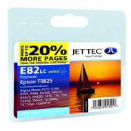 Совместимый картридж JetTec E81/82LC EPSON STYLUS PHOTO 1410 / R270 / R290 / R295 / R390 / RX590 / RX610 / RX615 / RX690 / T50 / T59 / TX light Cyan