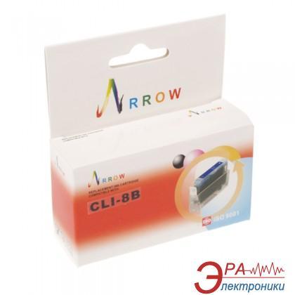 Совместимый картридж Arrow CLI-8B PIXMA MP500, PIXMA MP510, PIXMA MP530, PIXMA MP600, PIXMA MP800, PIXMA MP810, PIXMA MP830, PIXMA MX8 Black