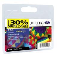 ����������� �������� JetTec E38 EPSON STYLUS C41 / C43 / C45 / CX1500 Black