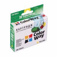 ����������� �������� ColorWay CW-T0924 Stylus: T26 / T27 / C91 / TX106 / TX109 / TX117 / TX119 / CX4300 Yellow