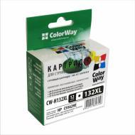 Совместимый картридж ColorWay CW-H132XL (DeskJet D4163 / D5443 PhotoSmart C3183 / C4100ser / C4183 PSC 1513) Black