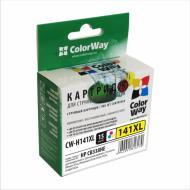 ����������� �������� ColorWay CW-H141XL (DeskJet: D4263, D4268, D4283, D4360, D4363, D4368 / OfficeJet: J5730, J5740, J5750, J5780, J5783, J5785, J5788, J6410, J6413, J6415, J6450, J6480 / PhotoSmart: C4205, C4210, C4225, C4240, C4250, C4270, C4272) (C, M